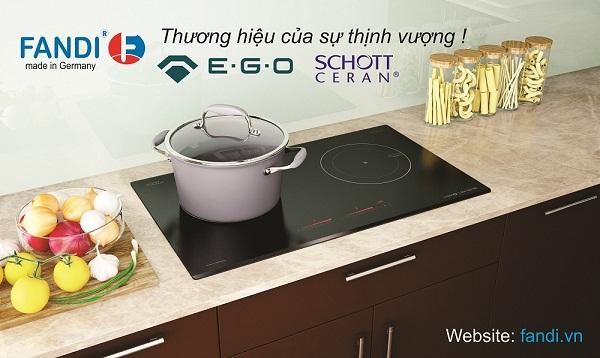 Bếp từ Fandi phù hợp với mọi tiêu chí của gia đình Việt